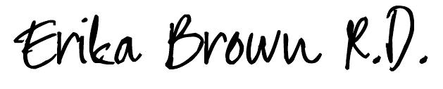 Erika Brown R.D.